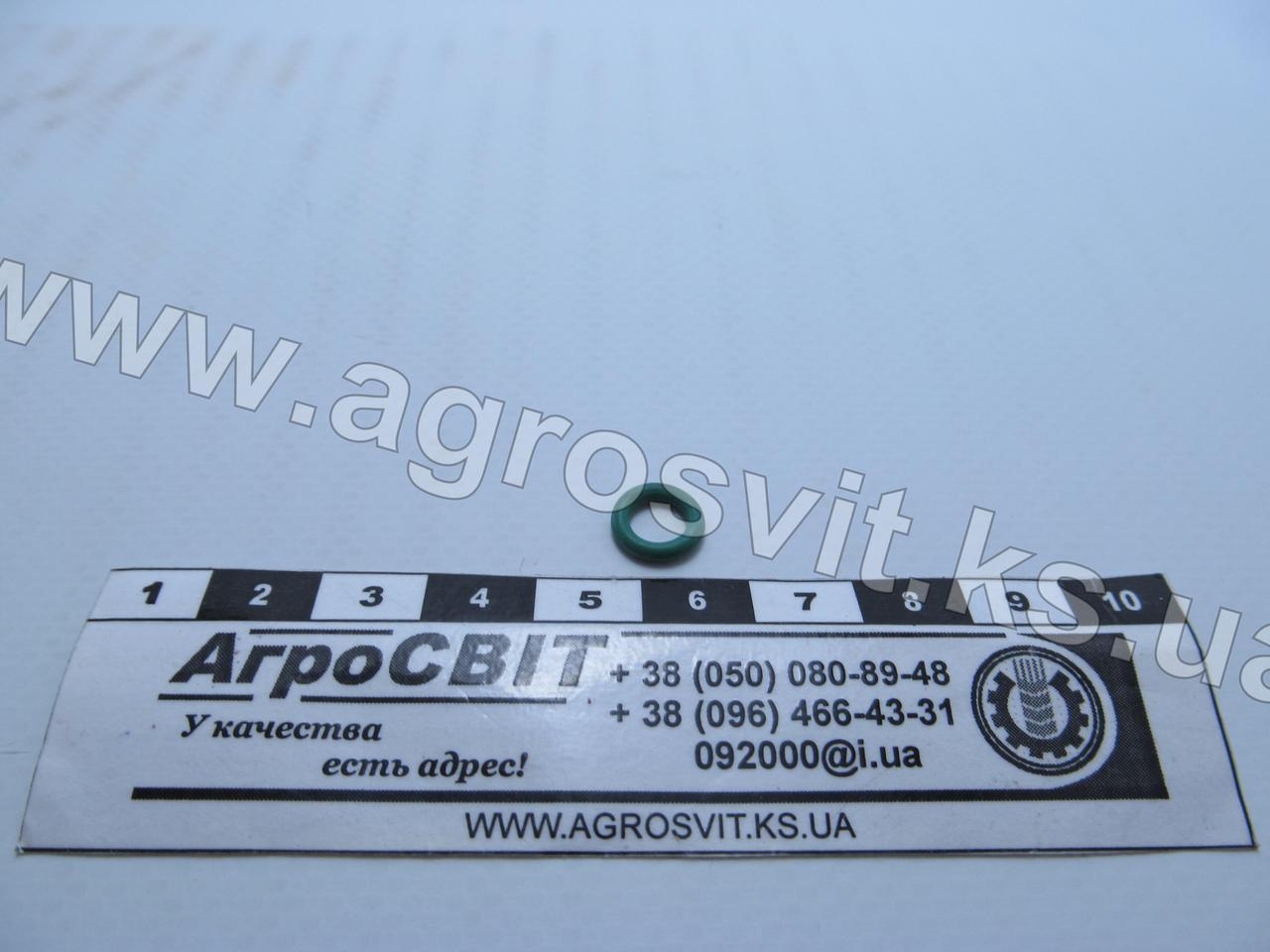 """Кольцо резиновое 5,3х1,78 (зеленое, фреоностойкое), размер в дюймах  7/32"""" х 1/16"""""""