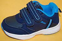 Детские кроссовки повседневные Clibee Польша F762 Для мальчиков Синий размеры 21_26, фото 1