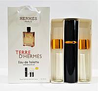 Подарочный набор 3в1 с феромонами Hermes Terre D`Hermes (лицензия)