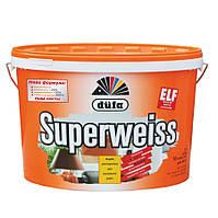 Суперстойкая виниловая краска Dufa Superweiss (Дюфа Супервайс) D4 10л