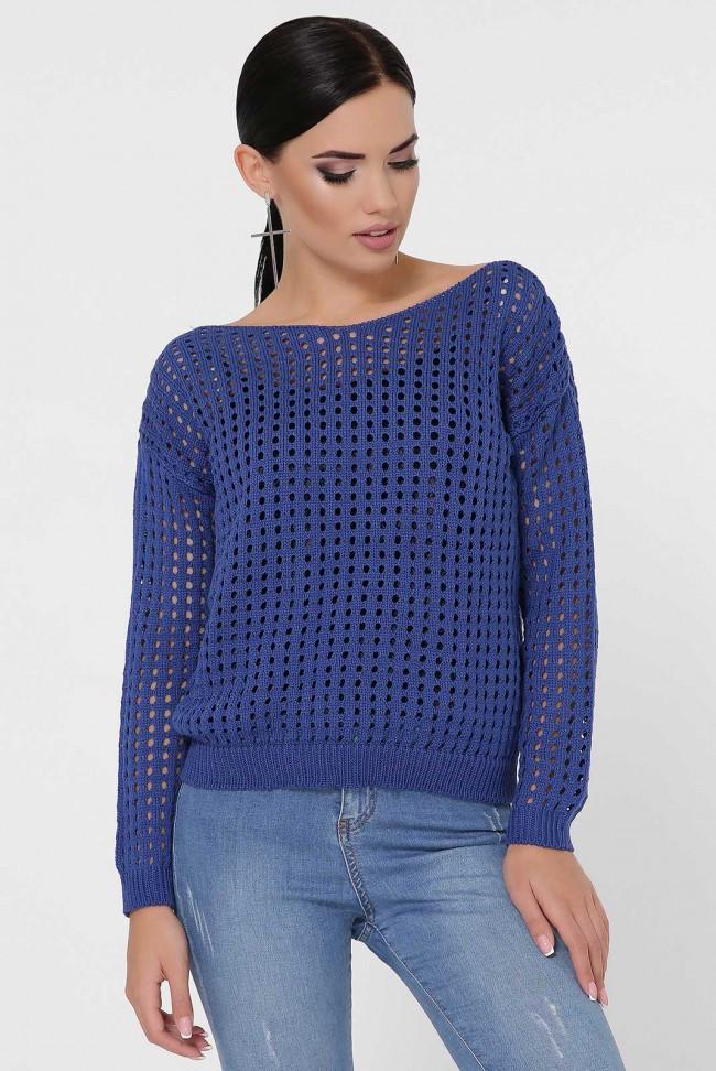 """Синий женский свитер """"DAILY"""""""
