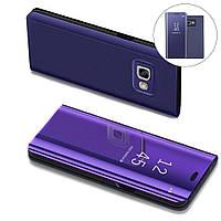Чехол Mirror для Samsung Galaxy A7 2017 A720 книжка зеркальный Purple