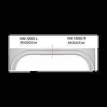 Крыло Classic Home HW-12005L/R, лепной декор из полиуретана