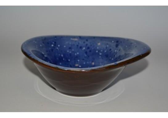 Салатник 13*10*5 см (170мл) синий  Alt Porcelain CaBaRe (C-11237)