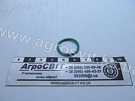 """Кольцо резиновое 17,2х1,78 (зеленое, фреоностойкое), размер в дюймах  11/16"""" х 1/16"""""""