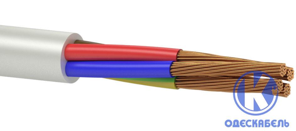 Провод соединительный ПВСм 3x1,0+1x1,0 (ПВСм 3*1,0+1*1,0)