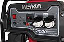 Генератор бензиновый WM4000i,  4,0Квт, 1 ФАЗА,  вес 38кг,  ИНВЕРТОР, фото 6