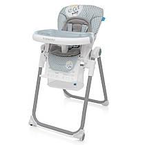 Детский стульчик для кормления  Baby Design LOLLY / Gray (07)