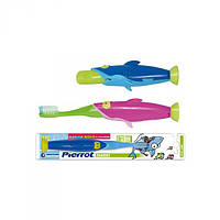Зубная щётка для детей Акула FUSHIMA Pierrot Sharky Toothbrushes for Children