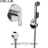 Смеситель VOLLE BENITA скрытого монтажа с гигиеническим душем