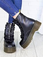 Ботинки кожаные Mart!ins 7152-28, фото 1