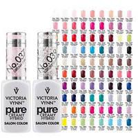 Гель-лак для ногтей Victoria Vynn ™ PURE CREAMY HYBRID Salon color 8 ml.