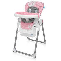 Детский стульчик для кормления  Baby Design LOLLY / Pink (08)