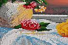 Набор для вышивки бисером Натюрморт с айвой (30 х 38 см) Абрис Арт AB-703, фото 4