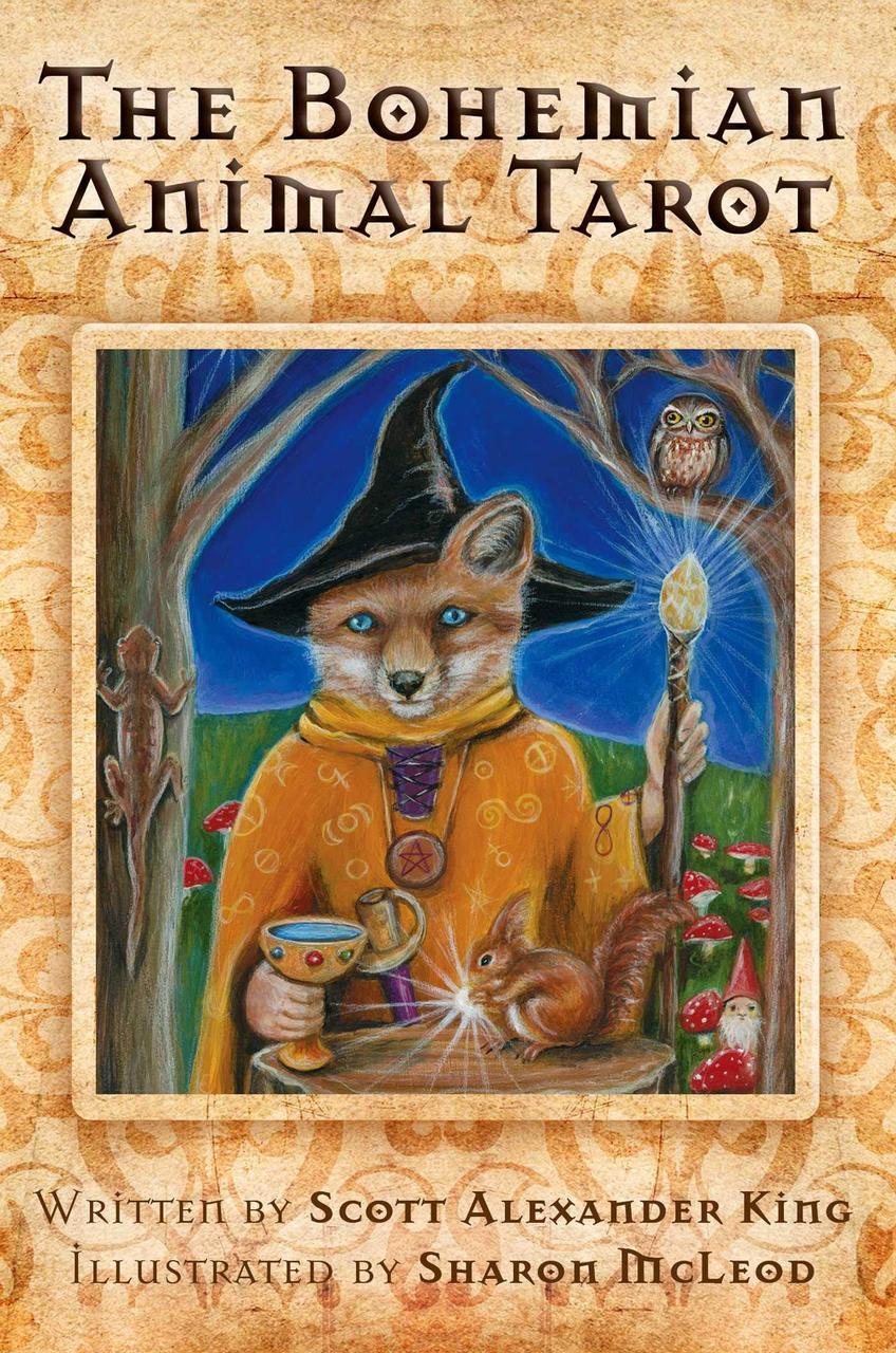 The Bohemian Animal Tarot/ Таро Богемских Животных