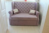 Раскладной диван на балкон или лоджию (Лиловый)