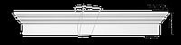 Фронтон Classic Home HW-12152, лепной декор из полиуретана