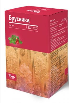 Брусника лист фиточай Фармгрупп 50 г (4640001381911)
