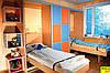 Шкаф-купе со шкаф-кроватью в детскую