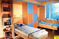 Шкаф-купе со шкаф-кроватью в детскую, фото 1