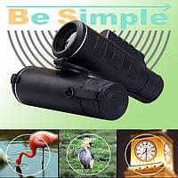 Монокуляр Binoculars 40x60 TJ с двойной фокусировкой + чехол