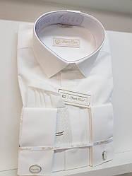 Oднотонная мужская рубашка Angelo Roma