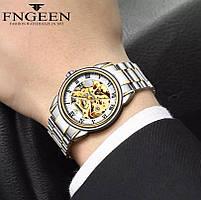 Часы наручные мужские FNGEEN механика, фото 2