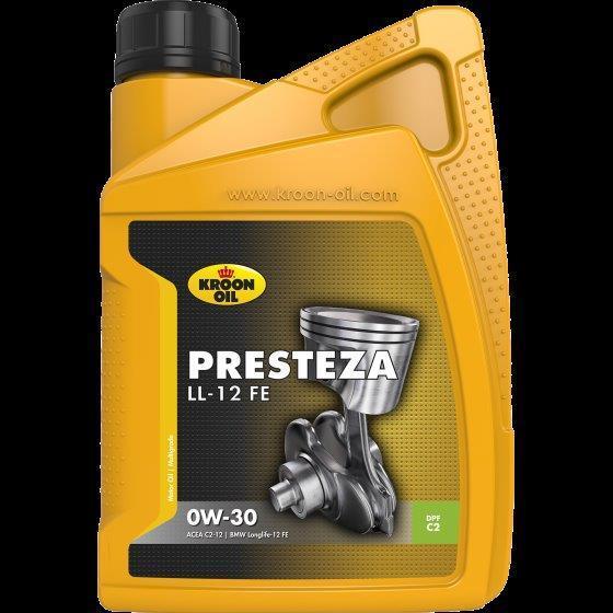 Моторное масло KROON OIL Presteza LL-12 FE 0W-30 1л (KL 32522)