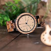 Часы мужские Bobo Bird деревянные, фото 7