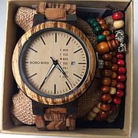 Часы мужские Bobo Bird деревянные, фото 6
