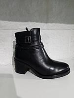 Черевики жіночі CAPRICE чорні 263 Black Nappa, фото 1