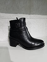 Черевики жіночі CAPRICE чорні 263 Black Nappa 38.5