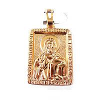 Иконка Xuping иконка Иисус Христос позолота 18К длина 3.2см л152