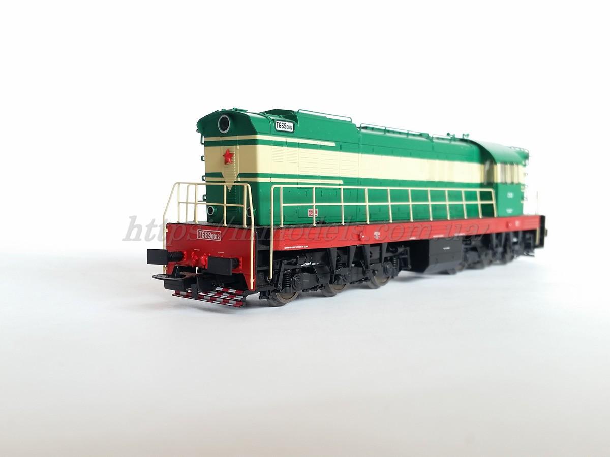 PIKO 59780 модель тепловоза T669 ( ЧМЭ3 ) / Н0 1:87