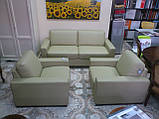 Шкіряні крісла від Italsofa Mod. і145 (Італія), фото 3