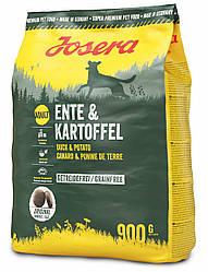 Сухой корм Josera Ente & Kartoffel (для собак с чувствительным пищеварением, утка+картошка)