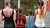 Плетение афрокосичек и плетение кос