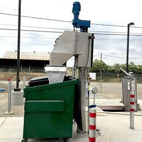 Вертикальна винтовая(шнековая) решетка (для канализационных насосных станций) (Франклин Миллер), фото 2