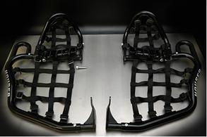 Пастки для ніг Houser для квадроцикла Yamaha YFZ450R 09-14, YFZ450X 10-11