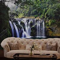Фотообои, водопад, природа,  ПРЕСТИЖ №32 272смХ196см