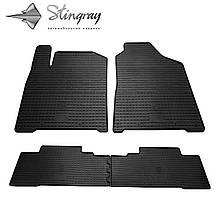 SsangYong Korando  2011- Комплект из 4-х ковриков Черный в салон