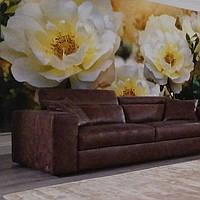 Фотообои цветущее дерево, цветы, светлый, ПРЕСТИЖ №31 392смХ204см