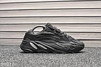 Кроссовки мужские Adidas Yeezy 700 v2 Black White ТОП качество!!!, фото 1