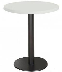 Стол барный высокий Кипр2, круглый, диаметр 60 см, высота 110 см