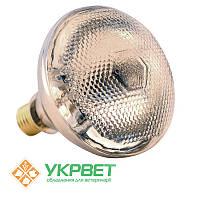 Инфракрасная лампа 175 Вт для обогрева животных, толстое прозрачное стекло, Bongbada