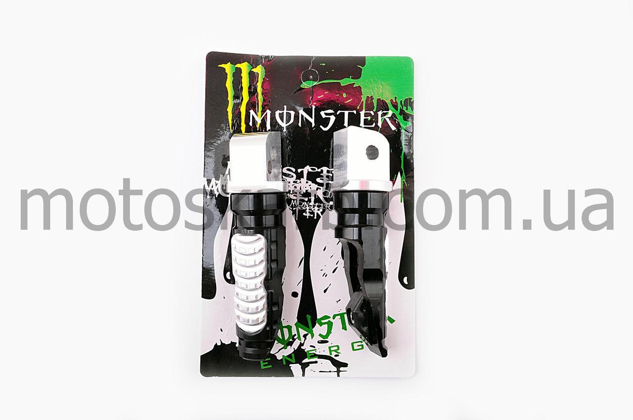 Подножки пассажира Monster Black