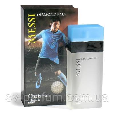 Туалетная вода мужская Christian Messi Diamond Ball 100ml