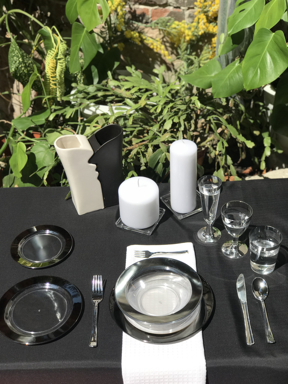 Одноразовая посуда для праздника. Полная сервировка стола 102 шт 6 чел Capital For People
