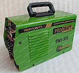 Сварочный инвертор Procraft RWS-350 (форсаж дуги), фото 4