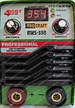 Сварочный инвертор Procraft RWS-350 (форсаж дуги), фото 9
